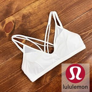 Lululemon White Sports Bra Size 12 | E20-31